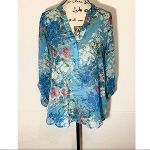 Kut From the Kloth Button Front Floral